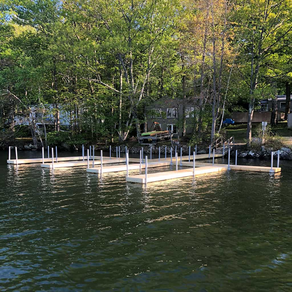 U-shaped dock project